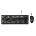 Hp H3C53AA#ABE - Hp Wired Combo C2500 + Mouse(10) - Interfaz: Usb; Interfaz: Usb; Color Principal: Negro; D