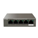 Ip-Com S1105-4-PWR-H - Switch S1105-4-PWR-H 5-Ports 10/100Mbps Desktop PoE+Switch with 4-PoE Ports