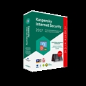 Antivirus Kaspersky 2017 3Us Internet Security  + Regalo Tarjetero Antirrobo Telematico