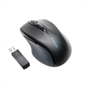 Kensington K72370EU - Pro Fit Wireless Mouse - Interfaz: Wireless; Color Principal: Negro; Ergonómico: Sí; Senso