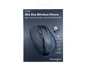 Kensington K72405EU - Profit Wireless Mid Mouse - Interfaz: Wireless; Color Principal: Negro; Ergonómico: Sí; Se