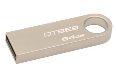 Kingston DTSE9H/64GB KINGSTON USB 2.0 MEMORIA FLASH DATA TRAVELER SE9 64GB COLOR PL =>LPI DE 0.24 INC.EN PREC.<=