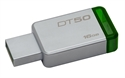 Kingston DT50/16GB - 16Gb Usb 3.0 Datatraveler 50 (Metal/Green) - Capacidad: 16 Gb; Interfaz: Usb 3.1; Función