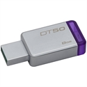 Kingston DT50/8GB - 8Gb Usb 3.0 Datatraveler 50 (Metal/Purple) - Capacidad: 8 Gb; Interfaz: Usb 3.1; Función D