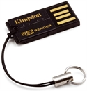 Kingston FCR-MRG2 - Microsd Reader Gen 2 - Tipología: Externo Analogico; Color Primario: Negro; Interfaz: Usb