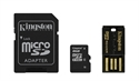 Kingston MBLY4G2/8GB - 8Gb Multi Kit / Mobility Kit - Tipología: Micro Sd Analogico; Capacidad: 8 Gb; Velocidad D