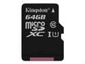 Kingston SDC10G2/64GB - 64Gb Microsdxc C10 Uhsi Rc Y Sd Ad - Tipología: Micro Sd Hc Analogico; Capacidad: 64 Gb; V