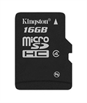 Kingston SDC4/16GBSP - Micro Sd 16Gb Clase 4 No Adap - Tipología: Micro Sd Hc; Capacidad: 16,00 Gb; Clase: 4,00;