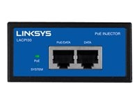 Linksys LACPI30-EU Linksys Business Gigabit High Power PoE Injector - Inyector de corriente - CA 100-240 V - 30 vatios - Europa - para Business LAPAC2600
