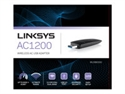 Linksys WUSB6300-EJ - Linksys Wusb6300 Dual Band Wireless Ac1200 Adapter - Tipologia Interfaz Lan: Usb; Conector