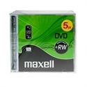 Maxell-Spain-Sa M174 - Dvd Regrabable Jewel Case 4.7 Gb Maxell 4X Pack De 5 Unidades