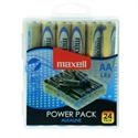 Blister Maxell 24 Pilas Alcalinas Aa Lr-06 Power Pack