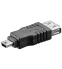 Neklan-Sas 1070868 - Adaptador Mini Usb Macho A Usb Hembra