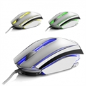 Ngs ICEMOUSE - RATON OPTICO NGS WIRED MOUSE ICE PLATA USB  2400DPI