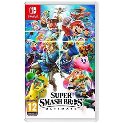 Nintendo 2524581 JUEGO NINTENDO SWITCH SUPER SMASH BROS ULTIMATE JUEGO NINTENDO SWITCH SUPER SMASH BROS ULTIMATE P N.- 2524581 2524581