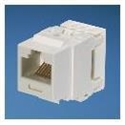 Panduit NK688MAW - Netkey Category 6 Punchdown Jack Module, Arctic White. Meets Category 6 Performance Requir
