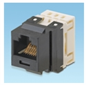 Panduit NK688MBL - Netkey Category 6 Punchdown Jack Module, Black. Meets Category 6 Performance Requirements.