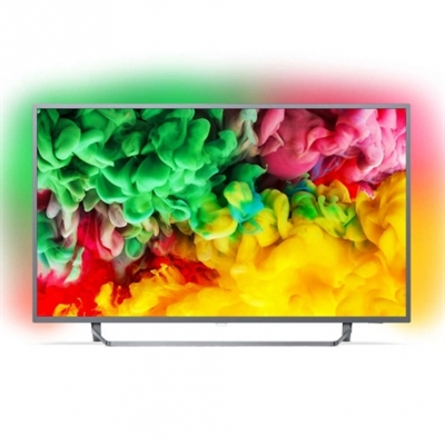 Philips 50PUS6753/12 Philips 50PUS6753 - 50 Clase - 6700 Series TV LED - Smart TV - 4K UHD (2160p) 3840 x 2160 - HDR - Micro Dimming Pro - gris oscuro