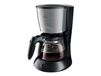 Philips HD7462/20 Philips Daily Collection HD7462 - Cafetera - 15 copas - acero inoxidable/negro