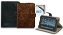 Port-Technology 201343 - Funda Manille 10.1´´Tablet Univ-Brown Leather. 201343 Especificaciones Técnicas 201343