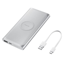 Samsung EB-U1200CSEGWW - Power Bank Wireles Tipoc 10Am Silve - Color Principal: Plata; Número De Puertos Usb: 1; Ba