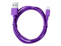 Sitecom 2LC050PU - Fresh ''n Rebel - Cable Lightning - USB (M) a Lightning (M) - 50 cm - púrpura - para Apple