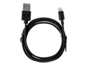 Sitecom 2LC120BL - Fresh ''n Rebel - Cable Lightning - USB (M) a Lightning (M) - 1.2 m - negro - para Apple i