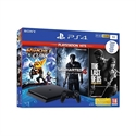 CONSOLA SONY PS4 1TB + 3 JUEGOS HITS VIDEOCONSOLA SONY PS4 1TB + 3 JUEGOS HITS Incluye: Ratchet Clank The Last of Us Uncharted 4 9731610