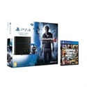 Sony 9884569 - VIDEOCONSOLA SONY PS4 1TB SLIM + UNCHARTED 4+GTA V VIDEOCONSOLA SONY PS4 1TB SLIM + UNCHAR