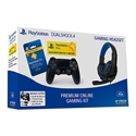 Sony PACKPS4GAMING - PACK SONY PS4 PREMIUM GAMING Incluye PS PLUS 90  Dualshock  Auricular  Funda  Cable