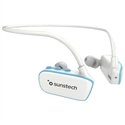 Sunstech ARGOS8GBWTBL - Sunstech ARGOS - Reproductor digital en forma de auriculares - 8 GB - azul
