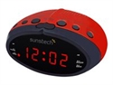 Sunstech FRD16RD - Sunstech FRD16 - Radioreloj - rojo