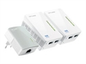 Powerline Wifi Tp-Link Av600 Kit 3Uds 2 Port
