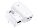 Av500 Powerline Wi-Fi Kit Ac750 Dual Band Wrls Data Rate
