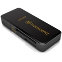 Transcend TS-RDF5K - Usb3.0 Sd/Microsd Card Reader Black - Tipología: Externo; Color Primario: Negro; Interfaz: