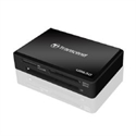 Transcend TS-RDF8K - Usb3.0 Multi-Card Reader Black - Tipología: Externo; Color Primario: Negro; Interfaz: Usb
