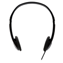 Audio Standard Headphones Blk Stereo
